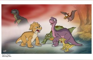 Land Before Time by toonbaboon