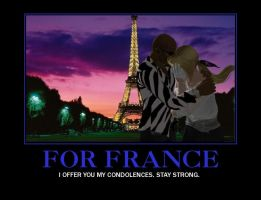 For France,... My Condolences. by PwN3Rship