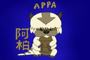 Avatar Animal Babies: Appa by the-rose-of-tralee