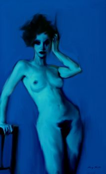 Blue Nude ll. by robbco