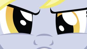 Glaring Ditzy Doo Wallpaper by EvilDocterMcBob