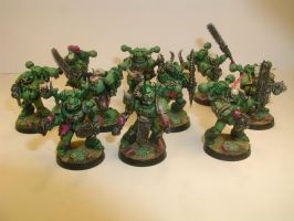 Plague marines by cbomb13