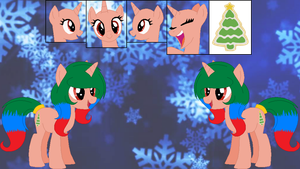 Yule Tide's official reference sheet by Starlollipop