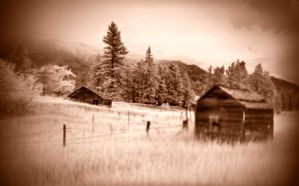 Old Homestead IR by NickSpiker