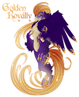 [CLOSED] Golden Royalty [Auction] by Seoxys6