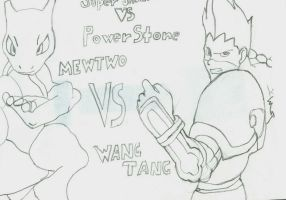 Mewtwo VS Wang Tang by KillaIntent