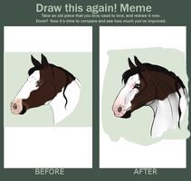 Meme  Before And After by Aspen-Isles-Stable
