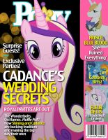 Pony Magazine: Cadence's Wedding Secrets by Dutchess6942