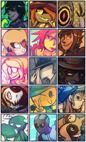 Commission Icons by Stormful