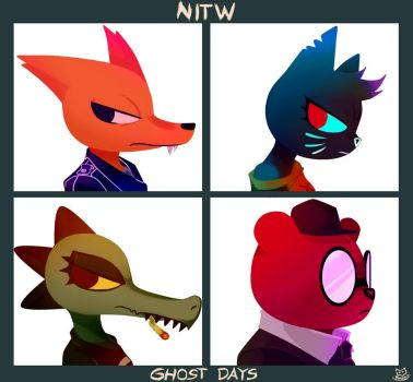 Night in the Woods - GHOST DAYS by Reapers969