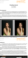 Basic Portrait Editing - PDF by comicidiot