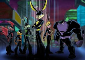 loonatics unleashed art work by loonaticsSpygirl