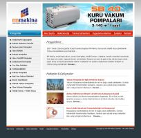 RM Makine Web Site by siracel