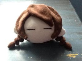Severed Head (madotsuki plush wip) by Sulna