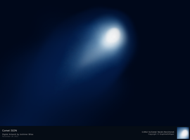 Comet ISON by GraphiteOnPaper