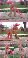 Pinkie Pie Woodwork IV by xofox