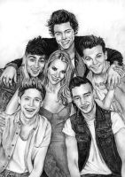 One Direction 6 by Csillipepper