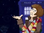 DrWho Caricature Wallpaper - 4 by CrimsonReach