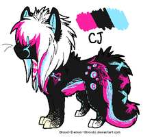 CJ ref by Blood-Demon-Shinobi