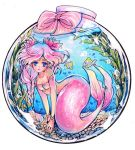 mermaid aceo size by MIAOWx3
