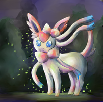 TVP: Sylveon by Frozen-Wing