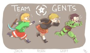 Team Gents by xxakikochanxx