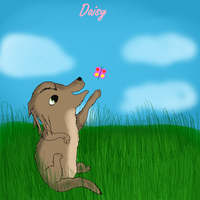 Kate and Humphrey's First Pup-Daisy by M0N0KUMA