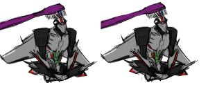 tiny Starscream misadventures 2 by rabbitzoro