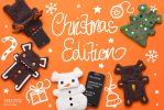 Fellfische Cellphone Cases Christmas Edition by IYU-IYU