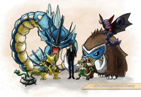 my last Gen 5 OU pokemon team