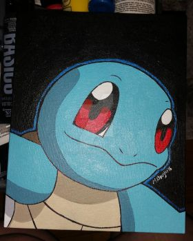 Squirtle by XOMBIE-OCTOPUS-QUEEN