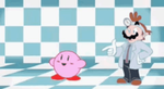 Dr. Mario gives Kirby his diagnosis by Koopa-Supreme