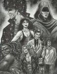 The Sandman-25th Anniversary Tribute-The Endless by StevJVaz72