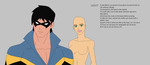 Nightwing and OC: Young Justice Base by TruthsDiary