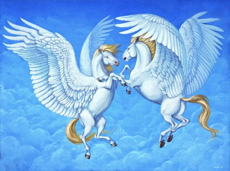 Air horses by Anisis