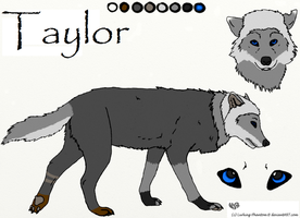 Wolf Taylor ref sheet by HileyCaine