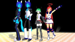 MMD Newcomers download by Pokeluver223