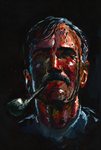 Daniel Plainview painting by tuonenjoutsen