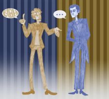 Jeeves and Wooster by Grrrenadine