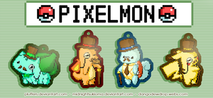 Pixelmon charms by Pluffers