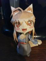 Horo Papercraft by Shyaoyan