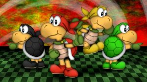 The Koopa Brothers by GEO-GIMP