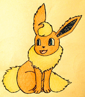 Flareon by KJB-Believer-2014