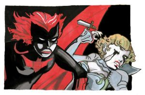 Batwoman and Alice by didism