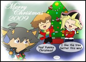 Merry Christmas 2009 by Bayleef-