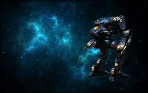 MWO Diamond Shark Stormcrow wallpaper by Odanan