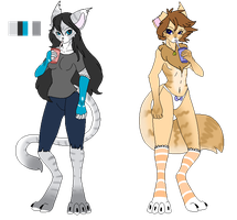 Anthro adopts by ghostiibear