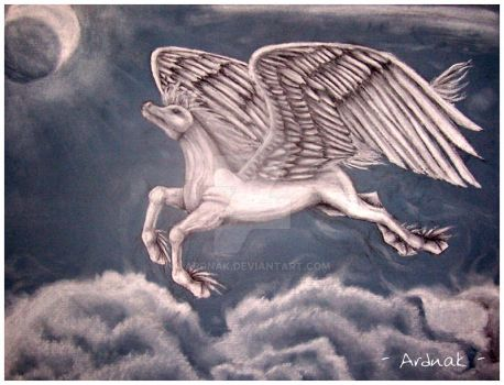 Pegasus -Charcoal- by Ardnak