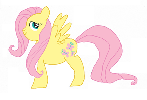 100th Deviation- Fluttershy by Fistantdantalus