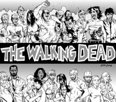 The Walking Dead by KyleIAM
